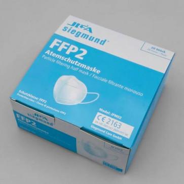 Jifa Siegmund Atemschutzmaske FFP2 Modell JFM02 Verpackung 20 Stück