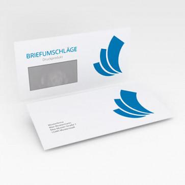 Briefumschläge mit Druck