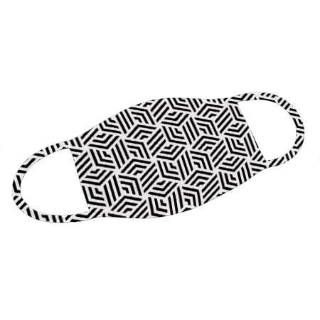 Mund-Nase-Maske Geometric