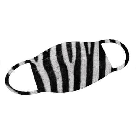 Mund-Nase-Maske Zebra