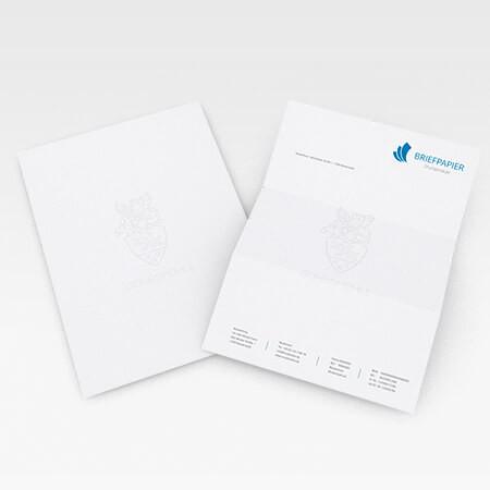 Briefpapier mit Wasserzeichen