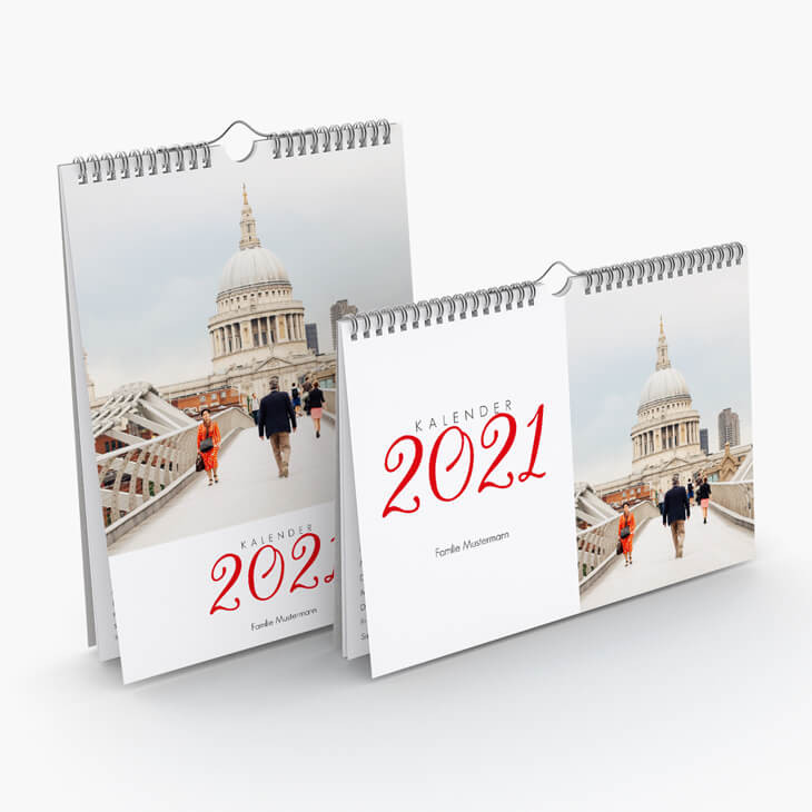 Wandkalender Reiselust