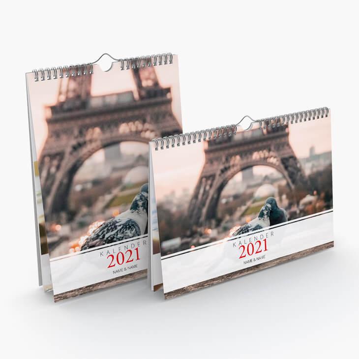 Kalender Romantik Hoch- und Querformat