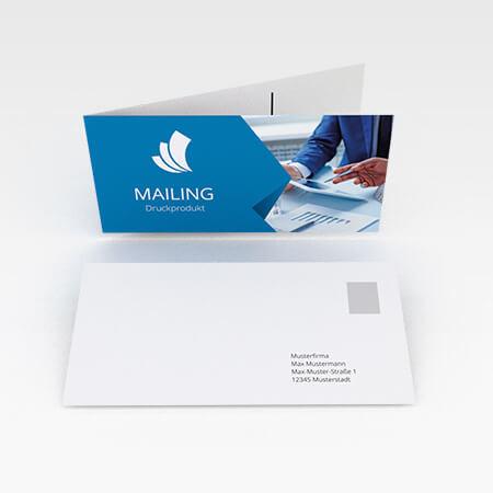 Klappkarten Mailing