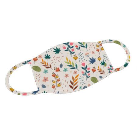 Mund-Nase-Maske Flowers