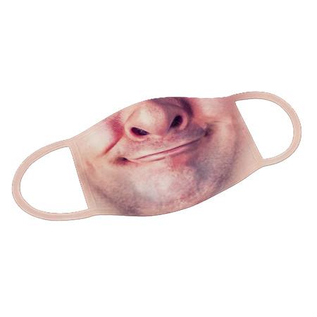 Mund-Nase-Maske Funny Face