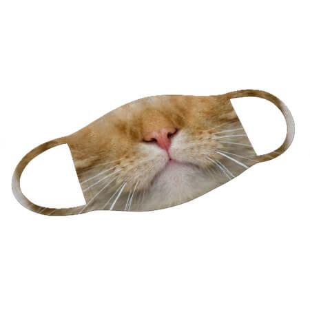 Mund-Nase-Maske Katze