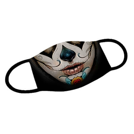 Mund-Nase-Maske La Catrina