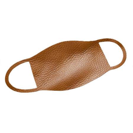 Mund-Nase-Maske Leder