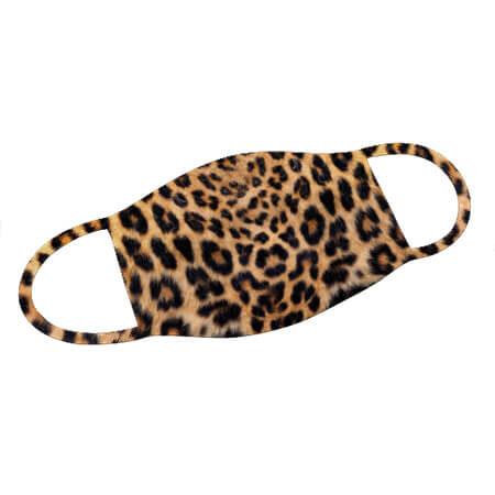 Mund-Nase-Maske Leopard
