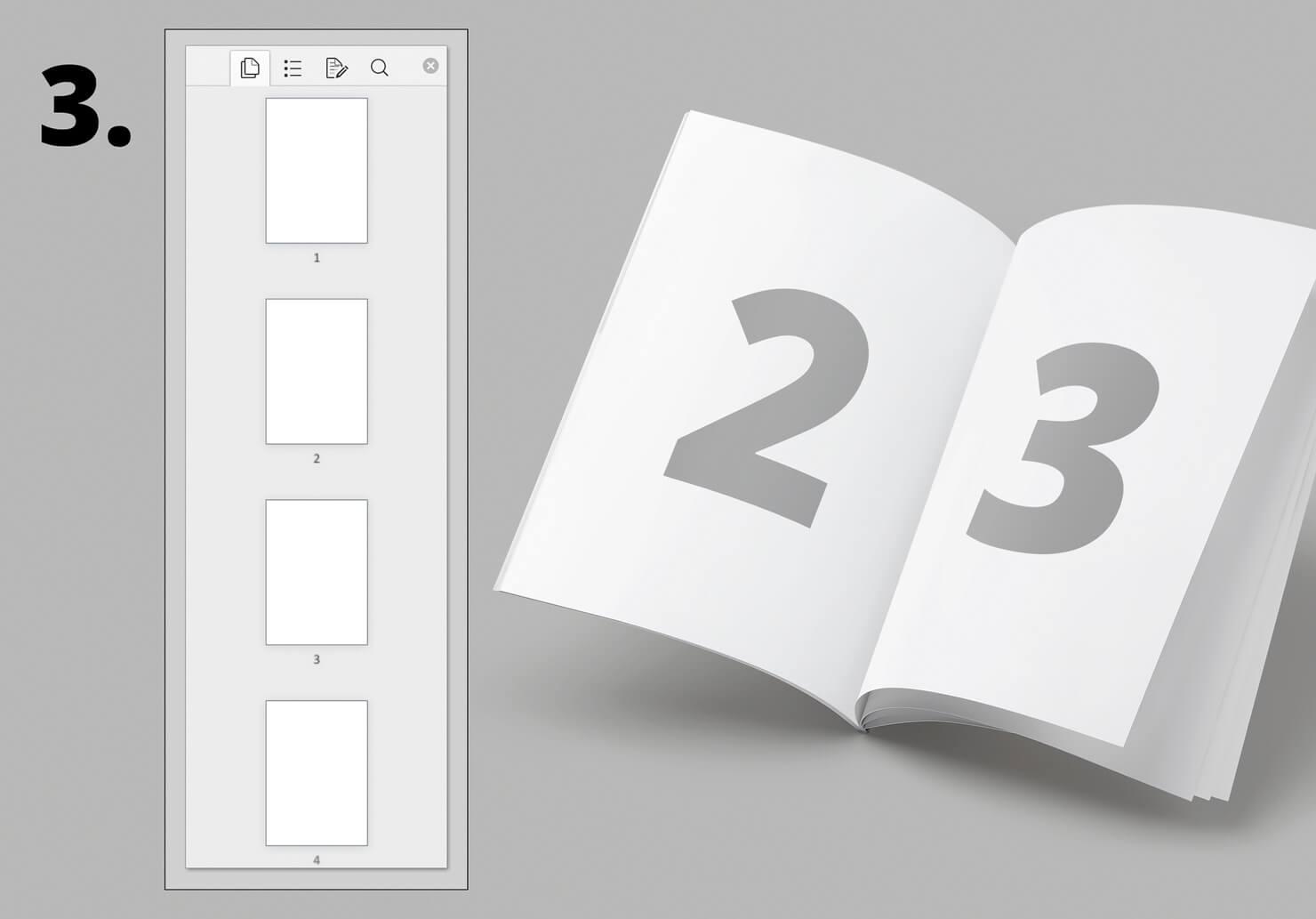 Seitenzahl und Seitenreihenfolge in Word