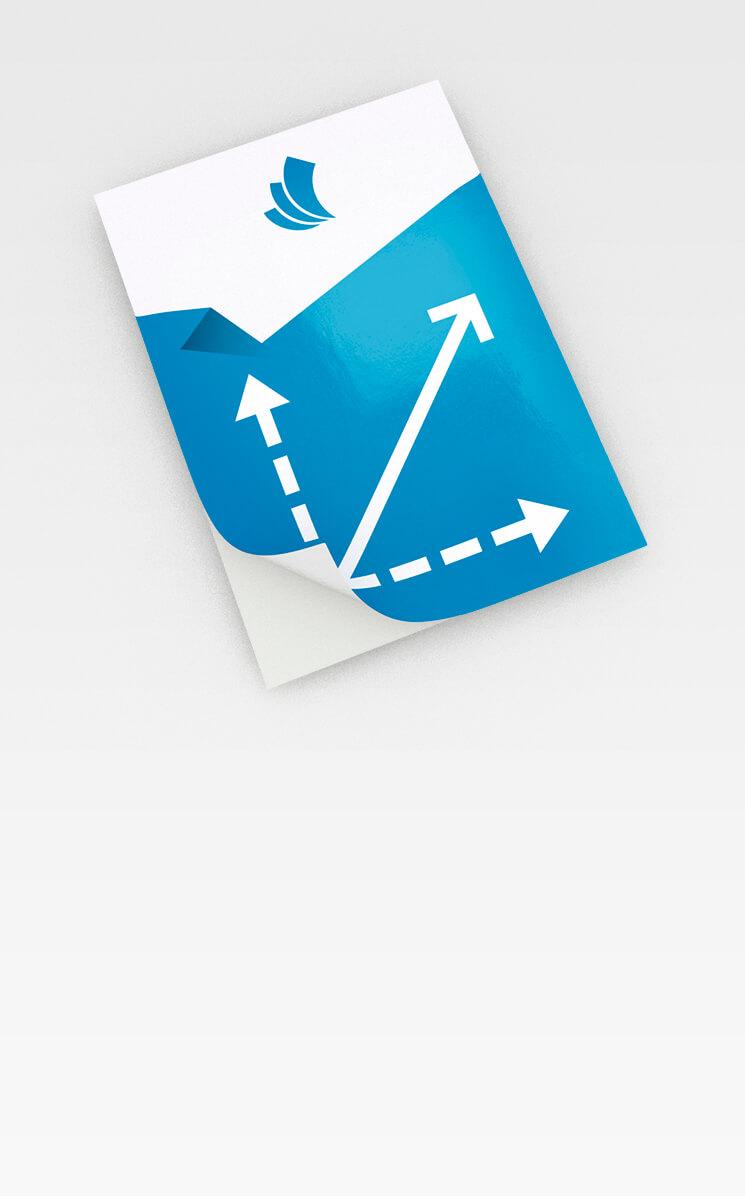 Klebefolien Günstig Drucken Broschueren Kleinauflagende